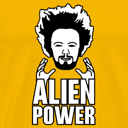 Alien power - Men's Premium T-Shirt