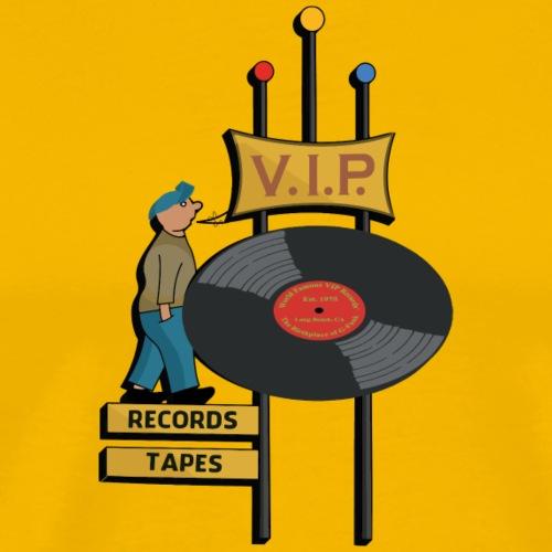 World Famous VIP Records - Men's Premium T-Shirt