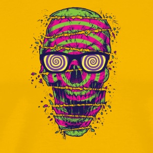 Illusion_Skull - Men's Premium T-Shirt