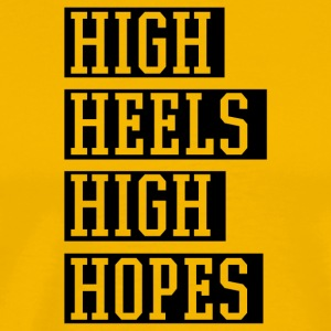 High Heels - Men's Premium T-Shirt