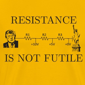 resistance is not futile - Men's Premium T-Shirt