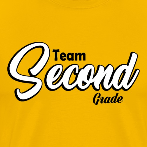 Teacher T-shirt - Team Second Grade - 2nd Grade - Men's Premium T-Shirt