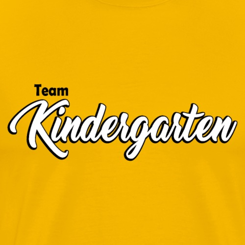 Teacher Tshirt - Team Kindergarten / Kinder-garten - Men's Premium T-Shirt
