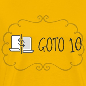 GOTO 10 T Shirt - Men's Premium T-Shirt