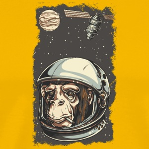 astranout_monkey - Men's Premium T-Shirt