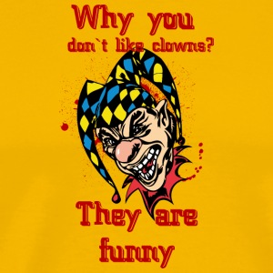EVIL_CLOWN_21_funny - Men's Premium T-Shirt