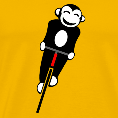 Bicycle Monkey - Men's Premium T-Shirt