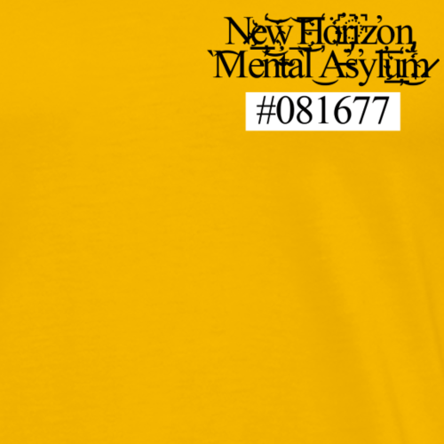 New Horizon Mental Asylun - Men's Premium T-Shirt
