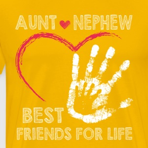 Aunt and nephew best friends for lifes - Men's Premium T-Shirt