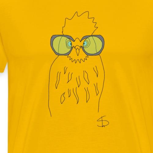 Linda Owl - Men's Premium T-Shirt