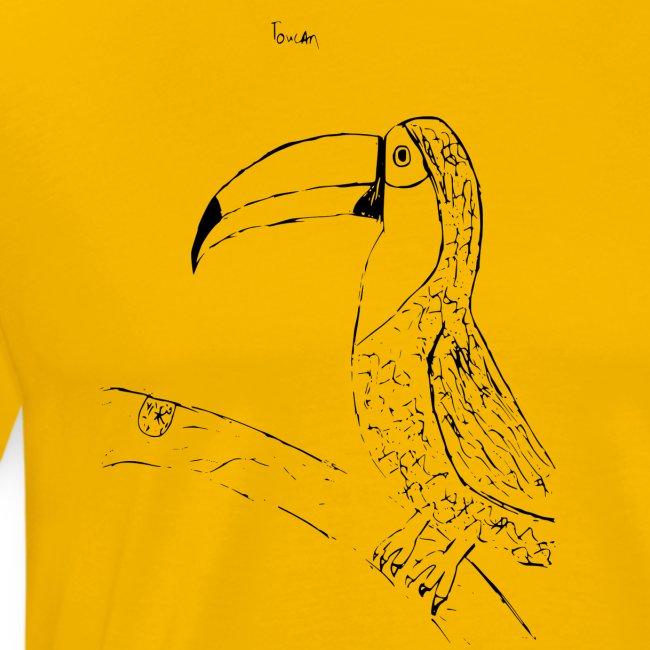 Stephen's hand drawn Toucan