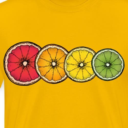 Citrus - Men's Premium T-Shirt