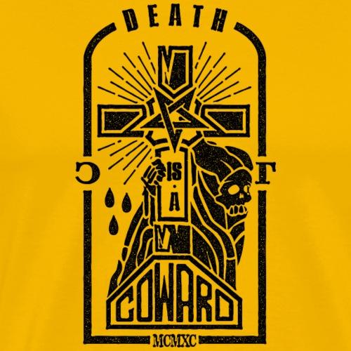 Death is a Coward - Men's Premium T-Shirt