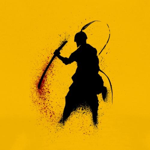 Samurai Supure - Red - Men's Premium T-Shirt