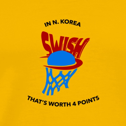 Swish - Men's Premium T-Shirt
