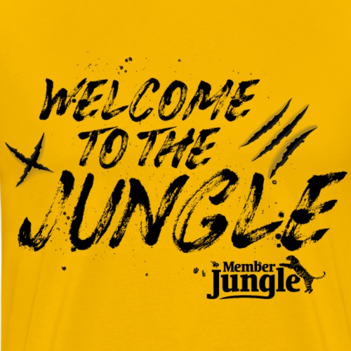 Welcome to the Member Jungle - Men's Premium T-Shirt