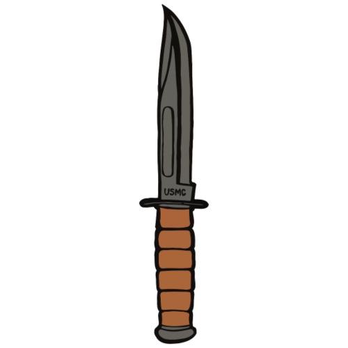 KaBar Knife - Men's Premium T-Shirt