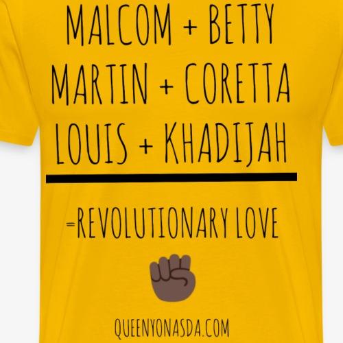 REVOLUTIONARY LOVE - Men's Premium T-Shirt