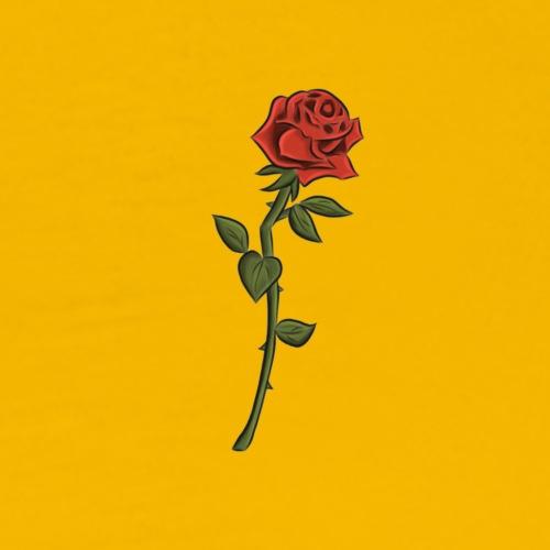 Single rose - Men's Premium T-Shirt