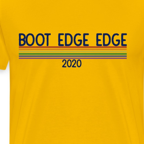 boot edge edge 2020 Pete Buttigieg 2020 Rainbow - Men's Premium T-Shirt