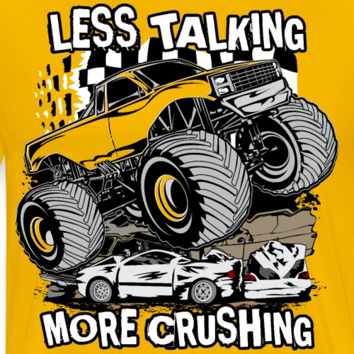 Monster Truck Crush - Men's Premium T-Shirt