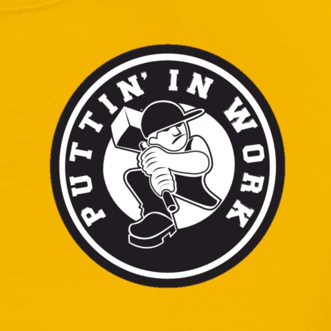 Solid Puttin' In Work Logo