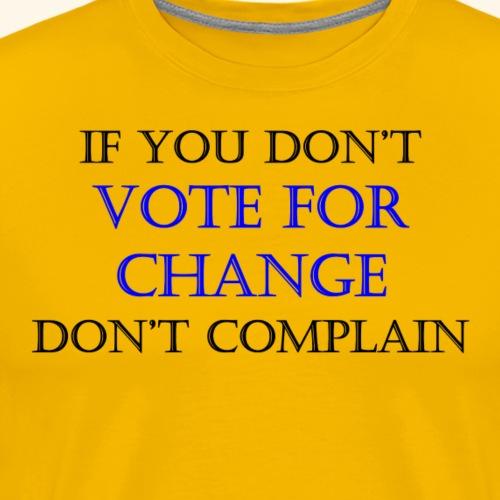 VoteForChange - Men's Premium T-Shirt