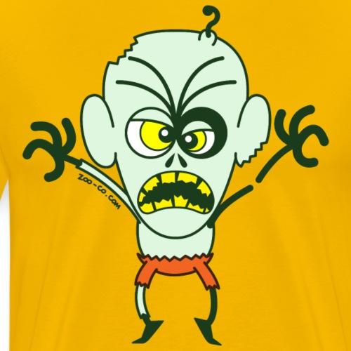 Scary Halloween Zombie - Men's Premium T-Shirt