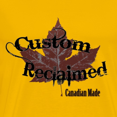Custom Reclaimed 1 5x - Men's Premium T-Shirt