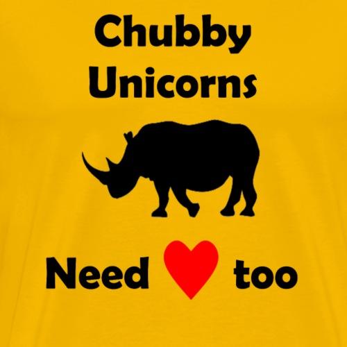 chubby unicorns - Men's Premium T-Shirt