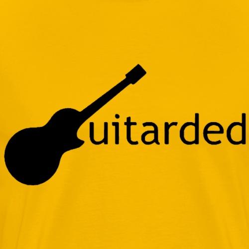 Guitarded - Men's Premium T-Shirt