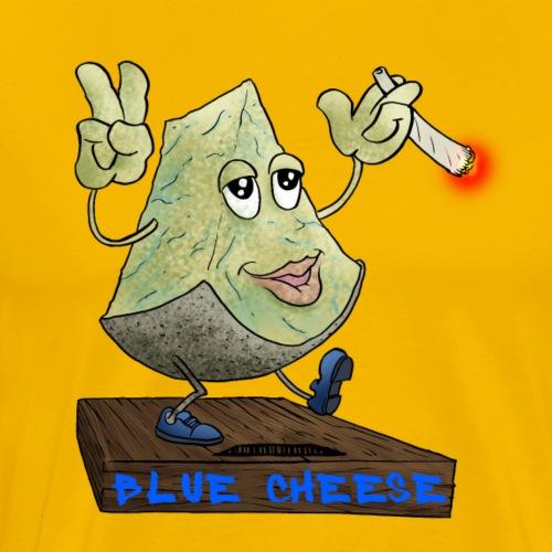 Blue cheese - Men's Premium T-Shirt