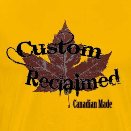 Custom Reclaimed 1 5x - Men's Premium T-Shirt