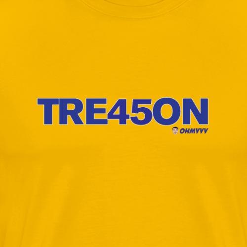 TREA45ON SOLO BLUE LOGO - Men's Premium T-Shirt