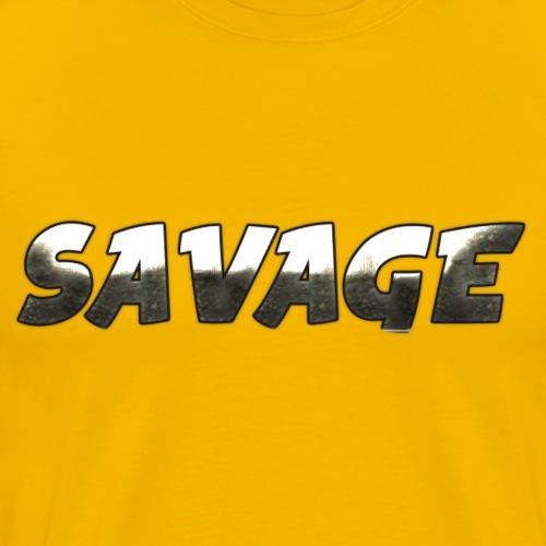 Savage Metal - Men's Premium T-Shirt