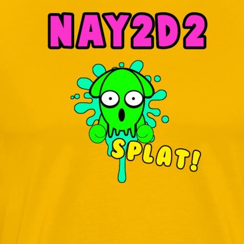 Squid SPLAT! - Men's Premium T-Shirt