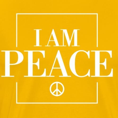 I AM Peace Affirmation T-Shirts & Sweatshirts - Men's Premium T-Shirt