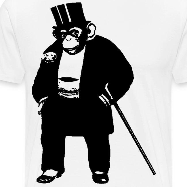 Classy Monkey Vector