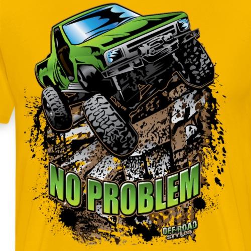 Toyota Rock Crawler Green - Men's Premium T-Shirt