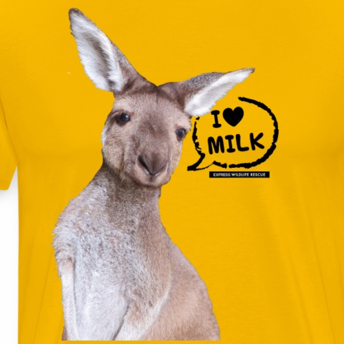 I Love Milk - Men's Premium T-Shirt