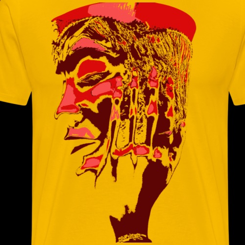 Red Face - Men's Premium T-Shirt