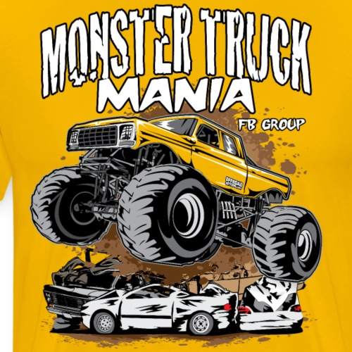 Monster Truck Mania Group - Men's Premium T-Shirt