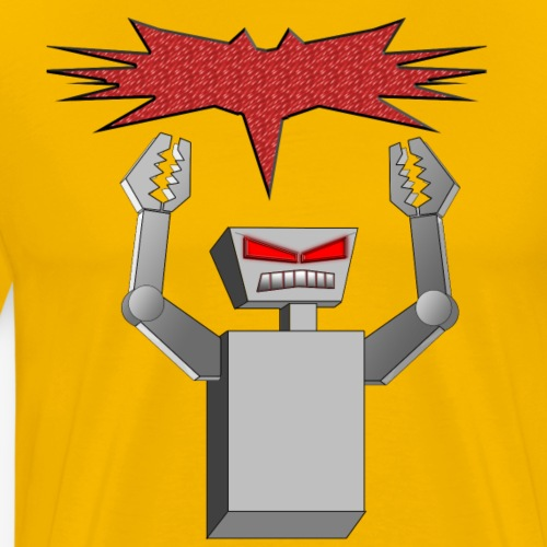 Angry Robot - Men's Premium T-Shirt