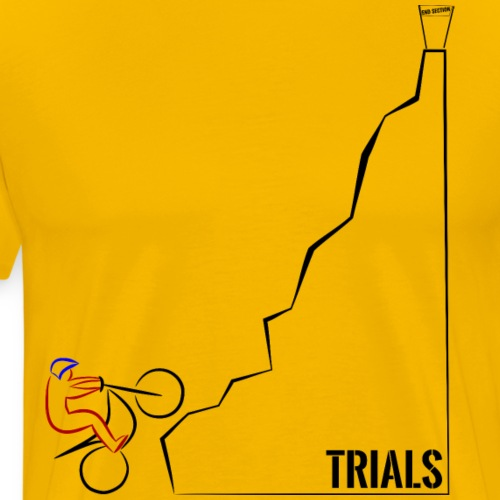 Trials Bike Hillclimb - Men's Premium T-Shirt
