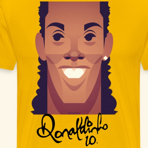 Ronaldinho 10 - Men's Premium T-Shirt