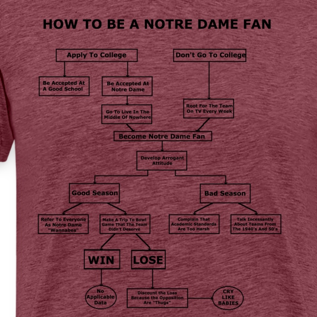 How To Be A Notre Dame Fan