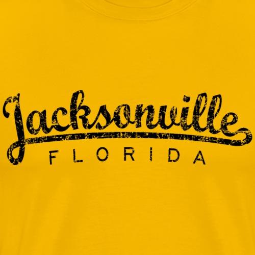 Jacksonville, Florida Classic (Ancient Black) - Men's Premium T-Shirt