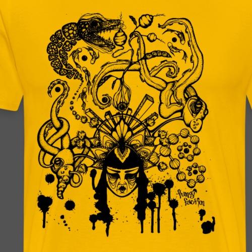 Delirious Dreams - Fungi Faction - Men's Premium T-Shirt