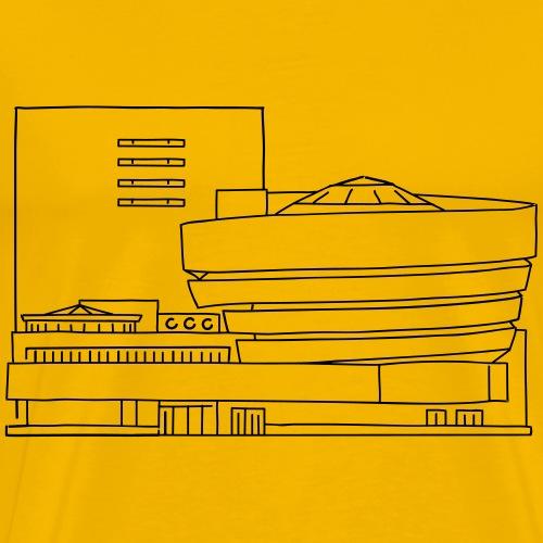 The Guggenheim New York - Men's Premium T-Shirt
