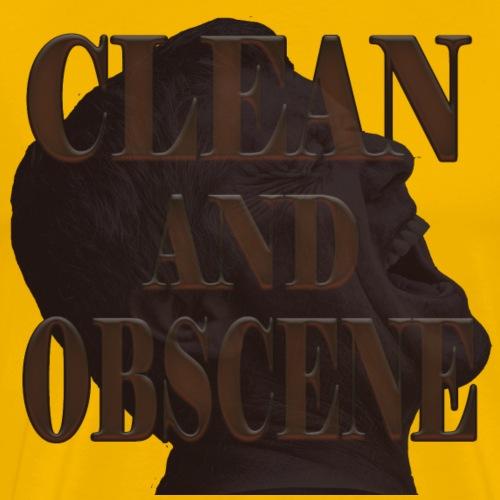 Clean and Obscene words5 - Men's Premium T-Shirt